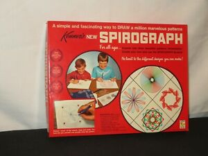 KENNER SPIROGRAPH RARE MINT FACTORY SEALED STORE STOCK 1967