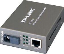 TP-Link MC112CS Single-Mode SC fiber Converter Full-duplex Switching Power