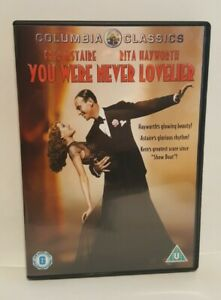 You Were Never Lovelier (1942) DVD, Fred Astaire Rita Hayworth UK R2 DVD