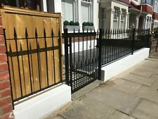 Metal Fencing Low wall Steel Fence , Gates , Posts , made to order ,