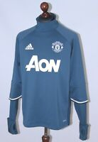 Manchester United England training football jumper jacket 2016 Adidas Size L