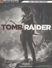 PS4 PS3 XB1 XB360 Tomb Raider Strategy Guide NEW sealed