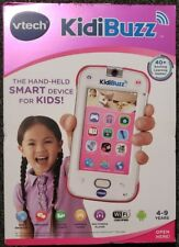 New VTech KidiBuzz Hand-Held Smart Device PINK Real Phone For Kids