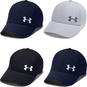 Under Armour Mens Golf Cap Headline Baseball Cap 3.0 Sports Hat Black Grey Navy