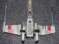 """Star Wars Luke Skywalker's Red Five X-Wing Fighter Electronic F/X POTF Huge 20"""""""
