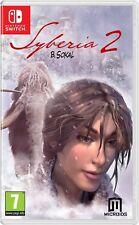 Syberia 2 (Nintendo Switch) BRAND NEW SEALED