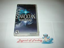 * New * Sealed * Star Ocean: Second 2nd Evolution for Sony PSP - USA Square-Enix