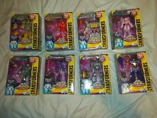 Transformers Cyberverse Maccadam Lot of 8 MISB Cyberverse deluxe figures