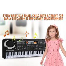 61 Key Electronic Keyboard Electric Music Digital Piano Organ With Microphone US