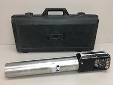 "Q CUES ""Nightowl"" Pipeline Inspection Tool Lamp / Camera S/N 836 W/ Case"