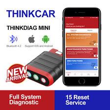 Thinkdiag Mini OBD2 Scanner Full System Car Diagnostic Tools 15 Reset Service BT