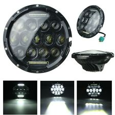 7inch Motorcycle Projector Daymaker DRL Headlight Hi/Lo LED For Harley Jeep Wran