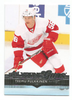 2014-15 UD Young Guns #221 Teemu Pulkkinen RC Rookie Detroit Red Wings