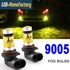 2X 9005 HB3 3000K Yellow LED Fog Driving Light Bulb DRL Headlight Conversion Kit