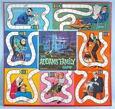 1964 Addams Family TV Game Board Ideal Toy Corp Morticia Lurch Fester Gomez