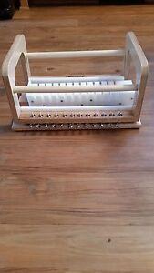 "12 Bar Wire Soap Cutter 1 1/4"" handmade wooden soap cutter/soap loaf cutter HDPE"