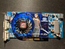 ATI Radeon HD 3850, AGP 8x, 512MB, GDDR3, Sapphire, 2X DVI, --TESTED & WORKING--
