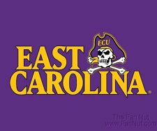 "East Carolina Pirates ECU RR 5""x6"" Vinyl Magnet Auto Home University of"