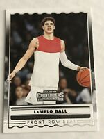 LaMELO BALL ROOKIE 2020 PANINI CONTENDERS DRAFT PICKS (HORNETS) FRONT ROW SEAT