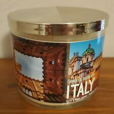 """Bath & Body Works """"CANNOLI & CHOCOLATE ITALY"""" scented candle, $24.50, NEW!"""