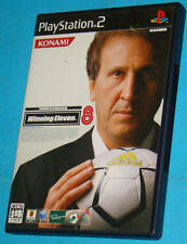 Winning Eleven 8 - World Soccer - Sony Playstation 2 PS2 Japan - JAP