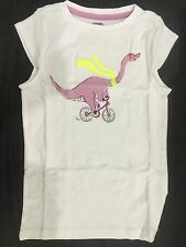 Gymboree Desert Dreams Purple Dinosaur Bicycle Bike Shirt Top Size 7