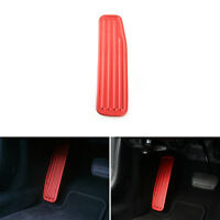 Stainless Steel Left Side Car Foot Rest Pedal Cover For Chevrolet Camaro 17+ Red