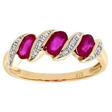 Ruby Good Cut I1 Fine Diamond Rings