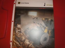 John Deere Waste Handlers Advertising Brochure 644J 724J 744J