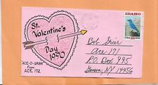 St VALENTINES DAY ACE 172 ACE - O - GRAM FEB 10,1990   ART COVER EXCHANGE (ACE)