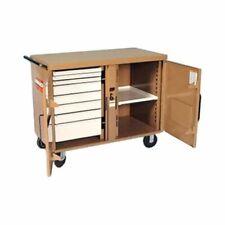 "Knaack Model 49 Storagemaster Rolling Work Bench 37 1/2"" x 25"" x 46 1/4"""