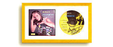 Hobby Frames CD Display Frame for Cover Sleeve & Disc: GOLD or SILVER