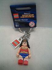 Lego #853433 Wonder Woman DC Universe Super Heroes Key Chain RHTF / Tag NIB 2012
