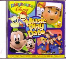 DISEY Playhouse Music Play Date CD Great Childrens HANDY MANDY BUNNYTOWN HOP