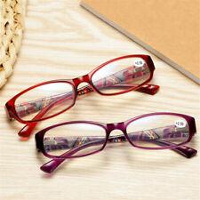 Women Light Reading Glasses Anti Blue Magnifying Presbyopia Glasses +1.0 to 4.0