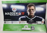 "Tom Brady Madden NFL 18 26""x 36"" Exclusive Gamestop Promo Poster XBox One GOAT"