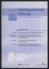 Homöopathische Zeitung Homöopathie Asclepias Syrica AMP Verbrennung Erfrierungen