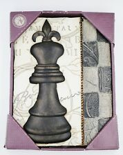 Chess Pawn Art Object Tile Home Decor Wall Hanging Plaque