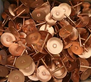 Copper Disc Rivets | Fibre Cement Slate | Fixing | Box of 1000 | FREE DELIVERY