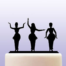 Acrylic Belly Dancing Cake Topper Decoration - Keepsake Gift For Belly Dancers