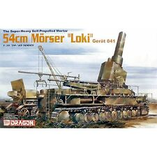 Dragon DRA6181 autopropulsado mortero 54 Cm Morser Gerat 041 1/35 Escala Kit Loki