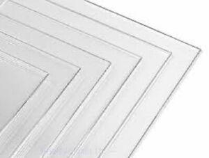 Clear Acrylic Perspex Sheet Cut Size Transparent Sheet Bespoke Sizes