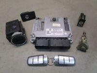 VW PASSAT (3C2) 1.9 TDI Steuergerät Motor 03G906021DP 0281012742 Schließsatz