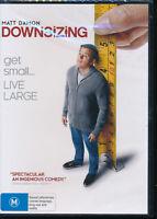 Downsizing DVD NEW Region 4 Matt Damon