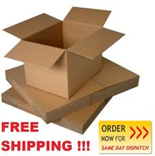 """10 Quality Small Single Wall Packaging Cardboard Boxes Carton Cube 4""""x 4""""x 4"""""""