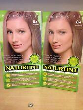 Naturtint Permanent Hair Colourant 2 Packs X 165 Ml Ash Blonde 8A