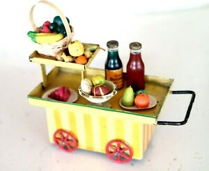 AC1968: Vintage Kibri Gauge 0/1 Refreshments Trolley
