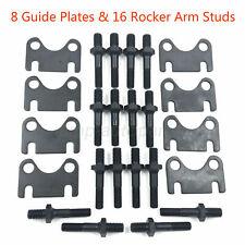 Sbc Small Block Chevy 400 350 Push Rod Guide Plates Amp 38 Rocker Arm Studs Kit