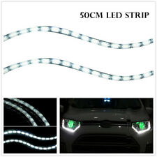 LED Lights Strip 50cm Flexible Light Strip Daylight White Water Resistant 12V