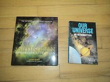 2 Astronomy Books Smithsonian Guide To Cosmos NASA Berry AND Our Universe Moore